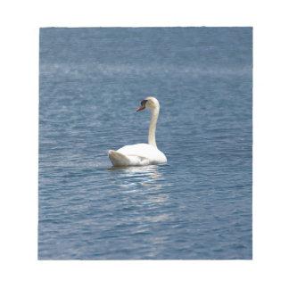 Lone Swan Memo Note Pad