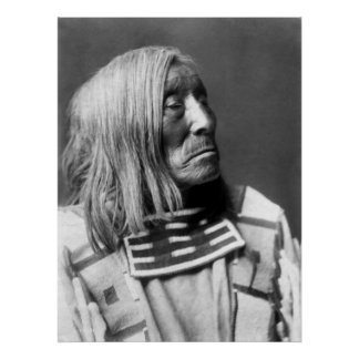Lone Tree, A Crow Indian, 1908 Poster