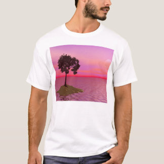 Lone Tree At Sunset T-Shirt
