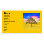 LONE TREE Double-Sided STANDARD BUSINESS CARDS (Pack OF 100)