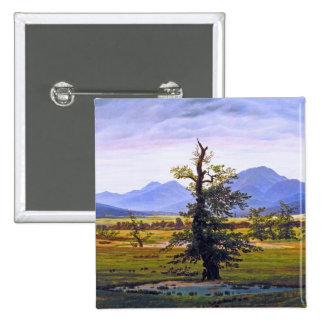 Lone Tree - by Caspar David Friedrich Pins