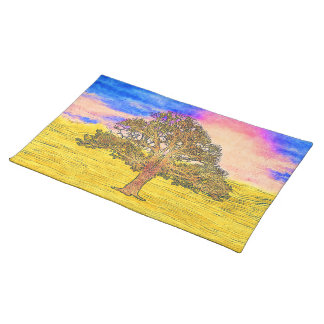 LONE TREE CLOTH PLACEMAT