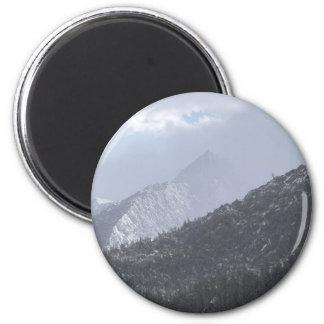 Lone Tree Mountain Refrigerator Magnet