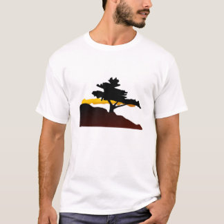Lone Tree on a Mountain T-Shirt