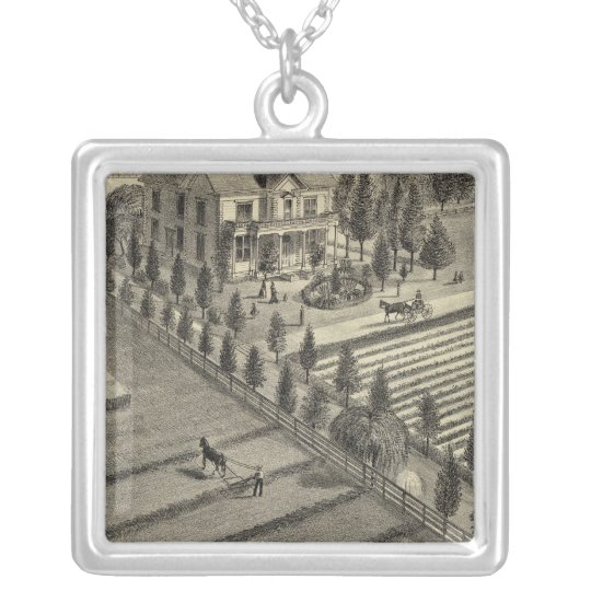 Lone Tree Ranch Silver Plated Necklace