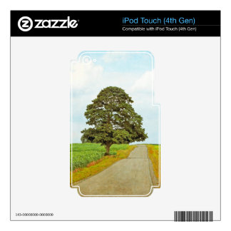 Lone Tree iPod Touch 4G Skins