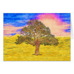 LONE TREE STATIONERY NOTE CARD