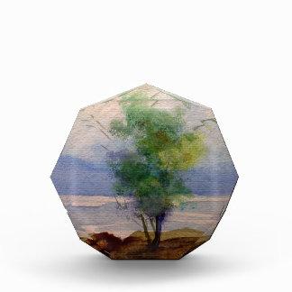 LONE TREE WATERCOLOR ACRYLIC AWARD