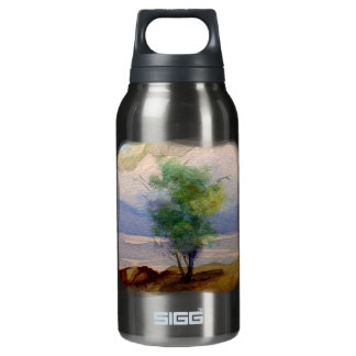 LONE TREE WATERCOLOR INSULATED WATER BOTTLE