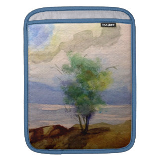 LONE TREE WATERCOLOR iPad SLEEVES
