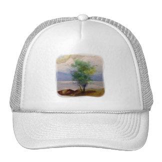 LONE TREE WATERCOLOR TRUCKER HAT