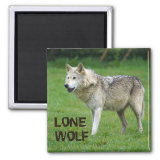 Lone Wolf 1 Magnet