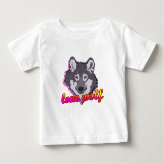 Lone Wolf, 80's style! Baby T-Shirt