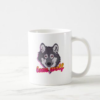 Lone Wolf, 80's style! Coffee Mug