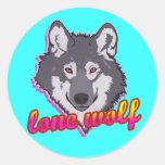 Lone Wolf, 80's style! Sticker