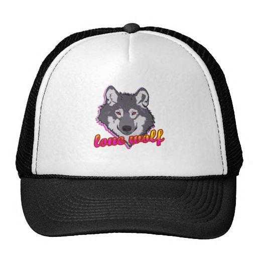 Lone Wolf, 80's style! Trucker Hat
