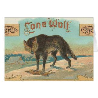Lone Wolf Card