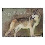 Lone Wolf-FD Greeting Card