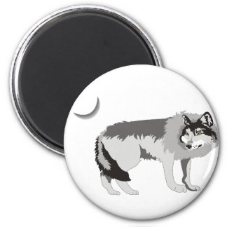Lone Wolf II -Mystery Canine! Magnet
