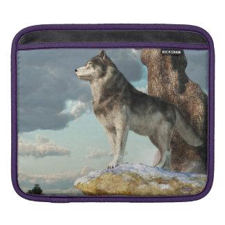 Lone Wolf iPad Sleeve