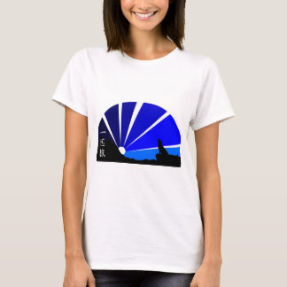 Lone wolf kanji design T-Shirt