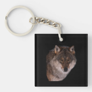 Lone wolf Key Chain
