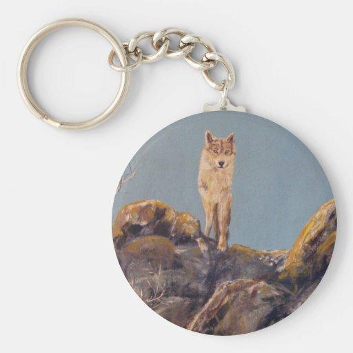 """Lone Wolf"" Keychain"