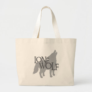LONE WOLF LARGE TOTE BAG