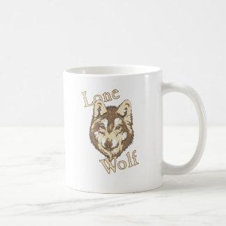 Lone Wolf Coffee Mugs