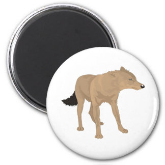 Lone Wolf -Mystery Canine! Magnet