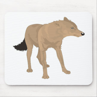 Lone Wolf -Mystery Canine! Mouse Pad