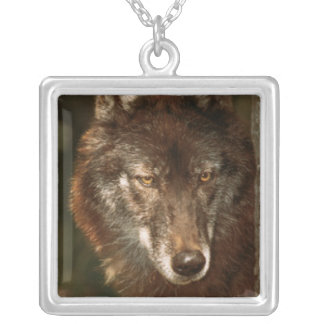 Lone wolf necklaces