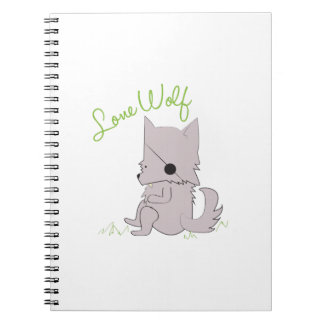 Lone Wolf Notebook