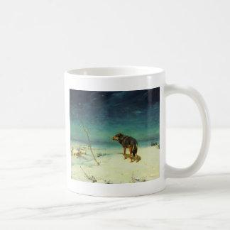 Lone Wolf Samotny Wilk Mug
