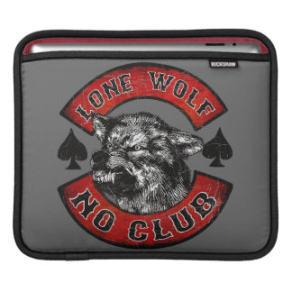 Lone wolf sleeves for iPads
