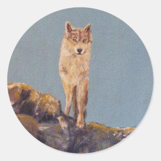 """""""Lone Wolf"""" Sticker"""