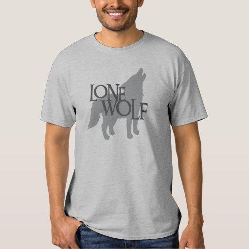 LONE WOLF TEE SHIRTS