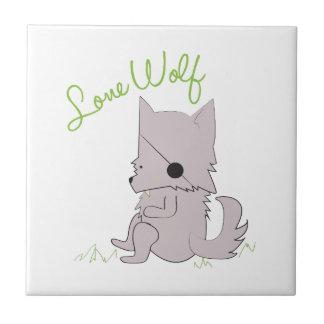Lone Wolf Ceramic Tile