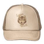 Lone Wolf Trucker Hats