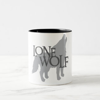 LONE WOLF Two-Tone COFFEE MUG