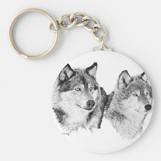 Lone Wolves Keychains