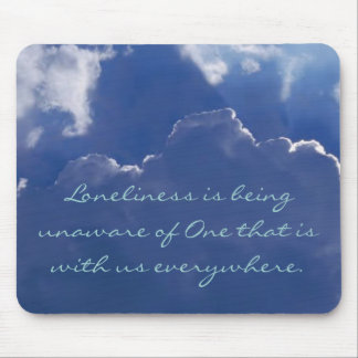 Loneliness Mousepad