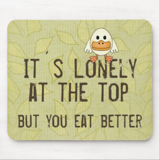 Lonely at the Top Mouse Pad