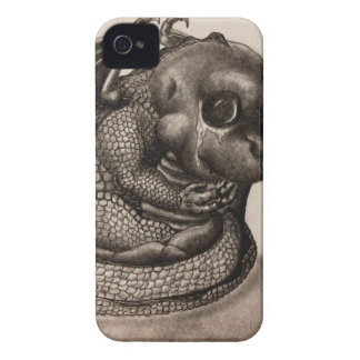 Lonely Baby Dragon Case-Mate iPhone 4 Case