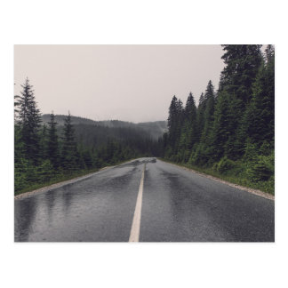 Lonely Backroad Postcard