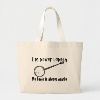 Lonely Banjo Large Tote Bag