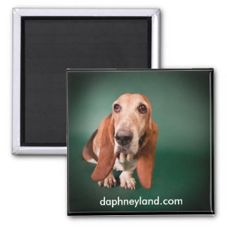 Lonely Basset Magnet