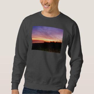Lonely Beach at Sunrise Norfolk VA Pullover Sweatshirt