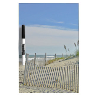 lonely beach dry erase board