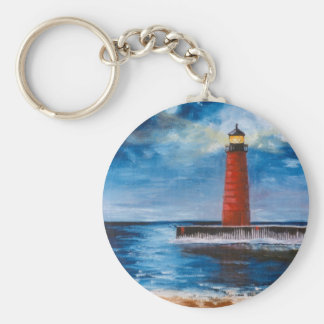 Lonely Beacon Keychain